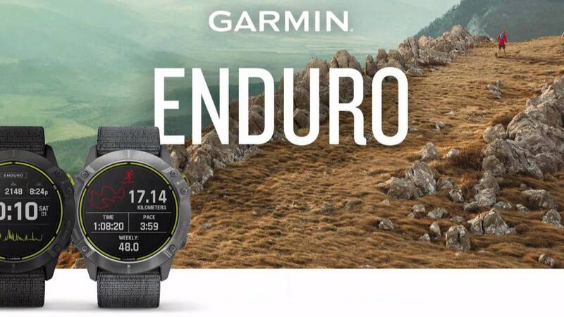 Garmin Enduro, the sport watch designed for extreme athletes