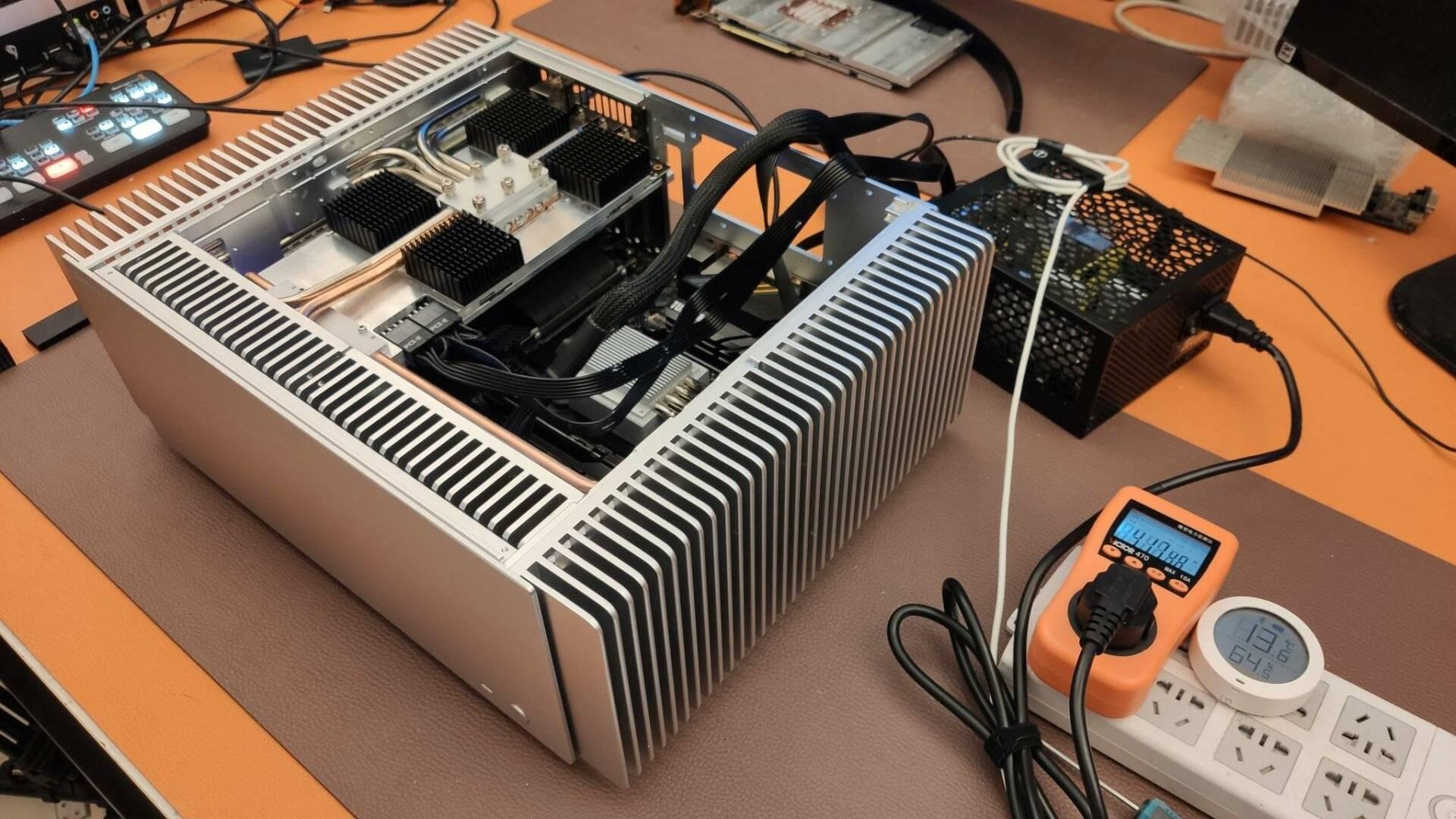 GeForce RTX 3080 Fanless