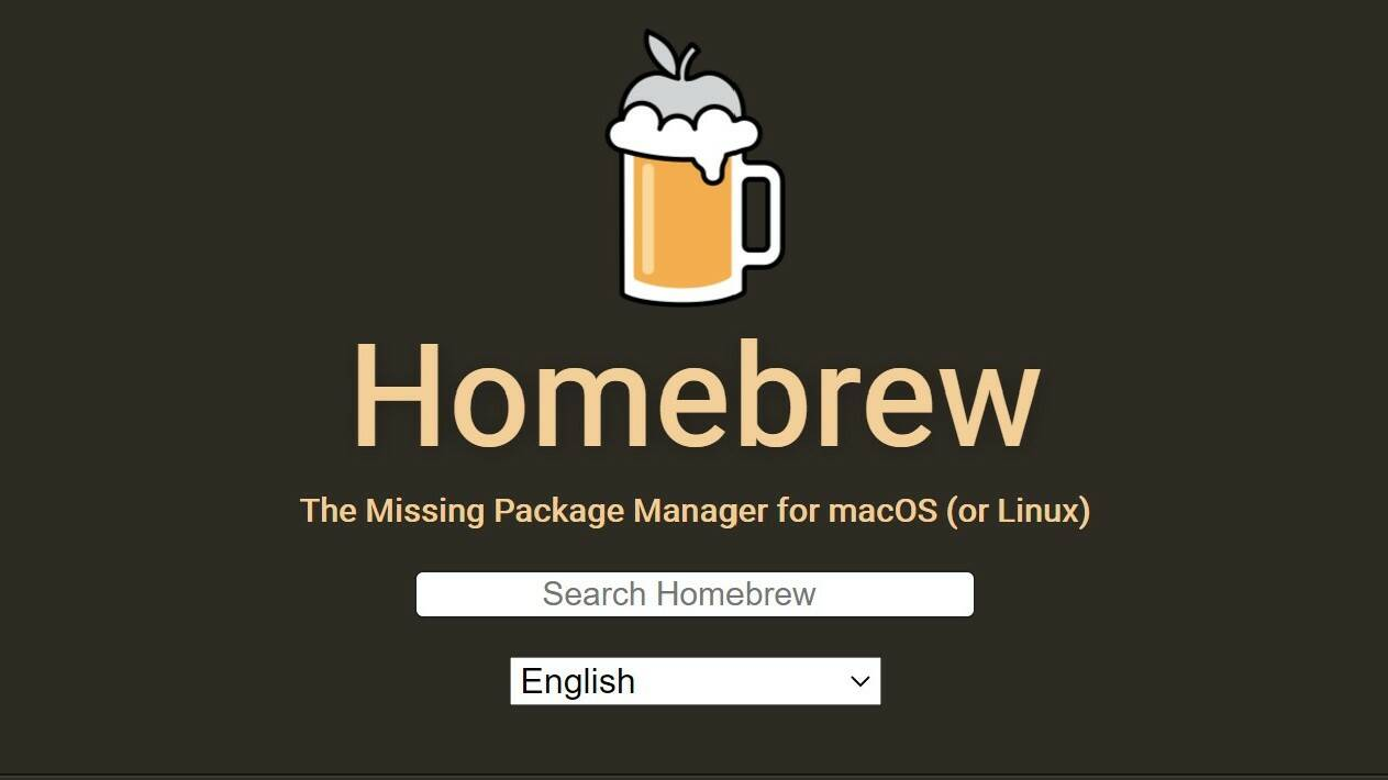 Homebrew Apple Mac
