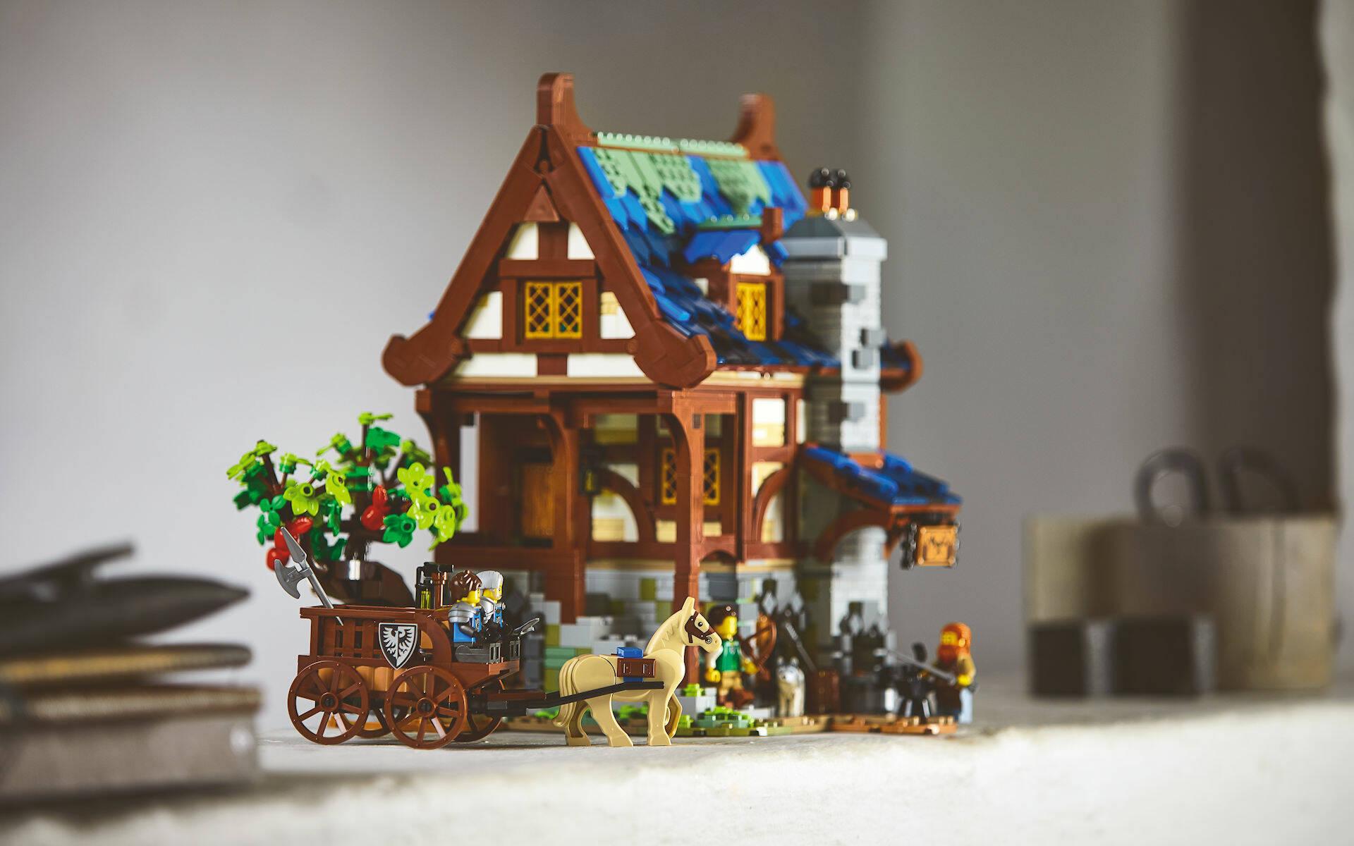 LEGO IDEAS #21325 FABBRO MEDIEVALE