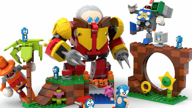 LEGO Ideas celebrates 30 years of Sonic by approving a fan project!
