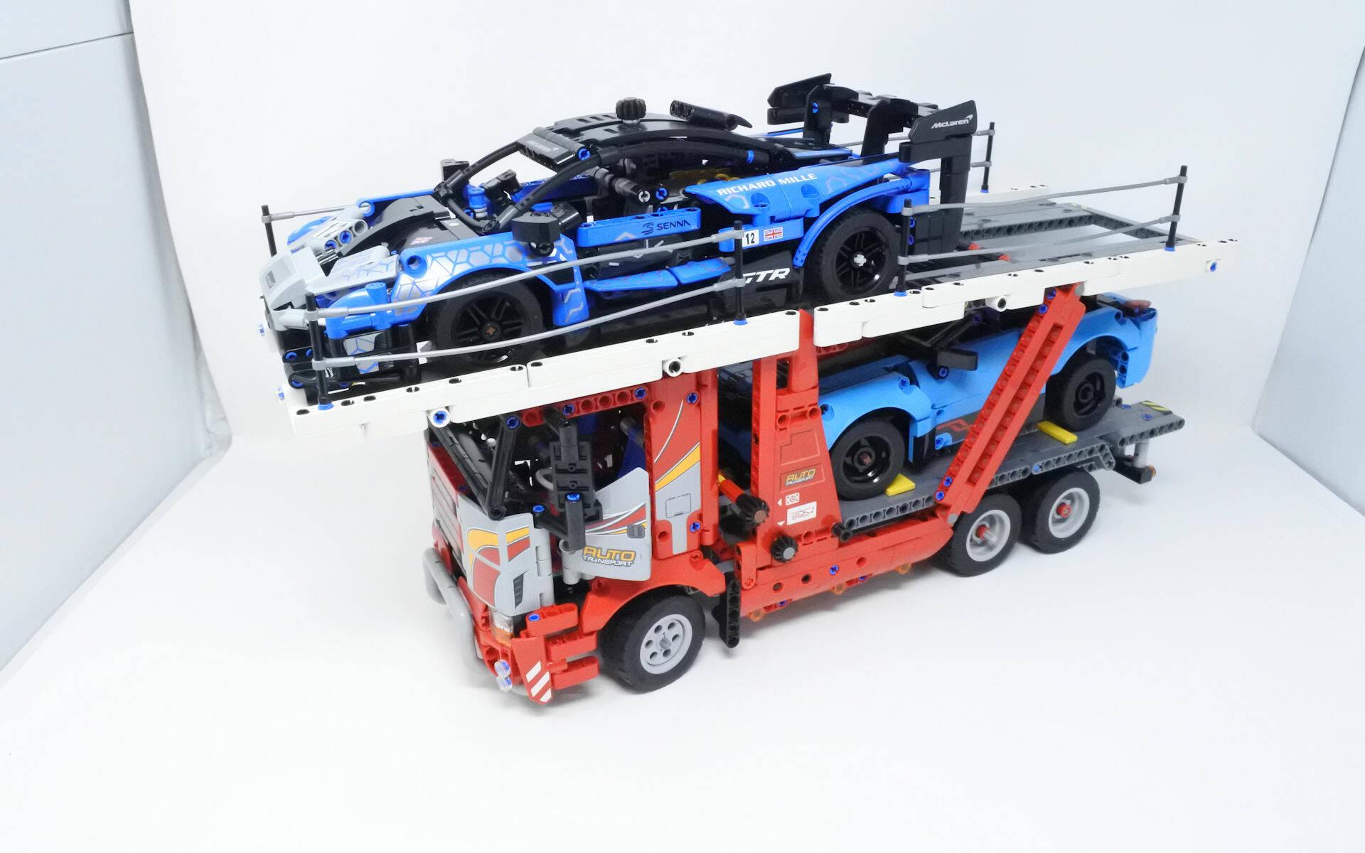 LEGO TECHNIC MCLAREN SENNA GTR - RECENSIONE