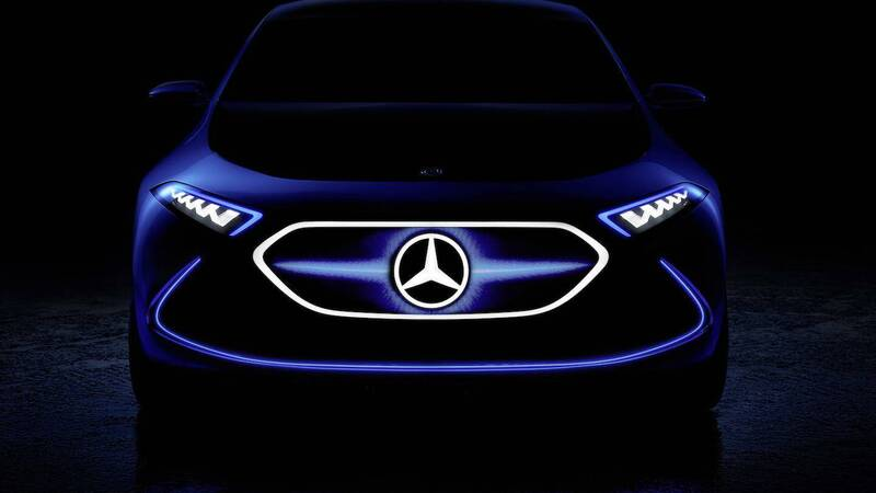 Mercedes thinks of a 3-door electric city crossover