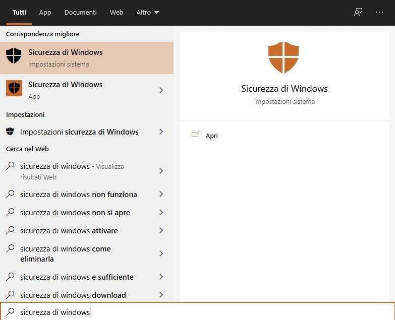 Procedura Check Versione Microsoft Defender