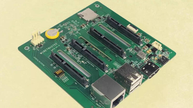 Raspberry Pi Compute Module 4 becomes a NAS with this project