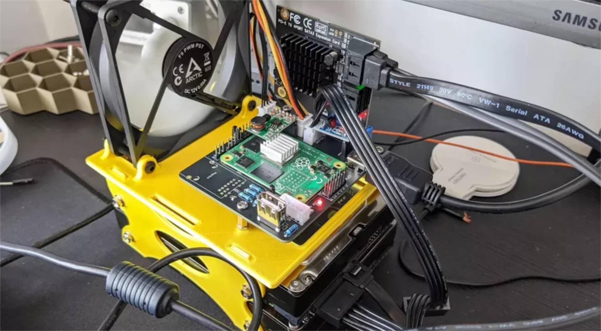 Raspberry Pi Compute Module 4 NAS