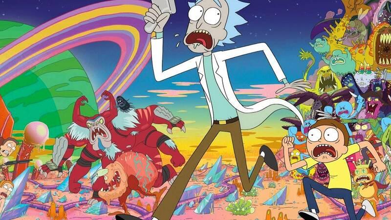 Quinta stagione di Rick e Morty, le prim …