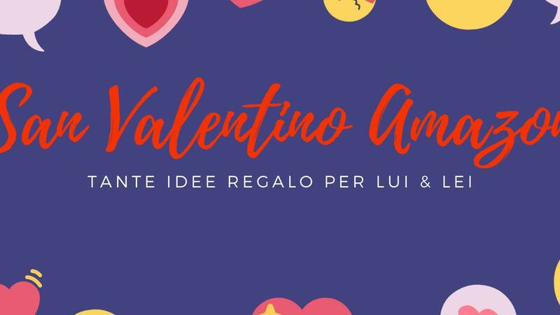 Valentine's Day Amazon: many gift ideas for him and her!