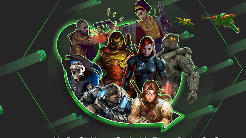 Xbox Game Pass, the catalog of available games
