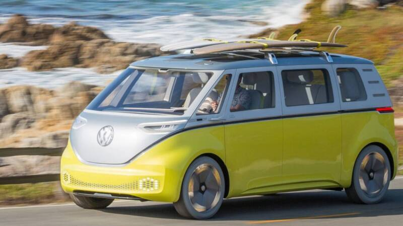Volkswagen ID Buzz: the company's first self-driving vehicle