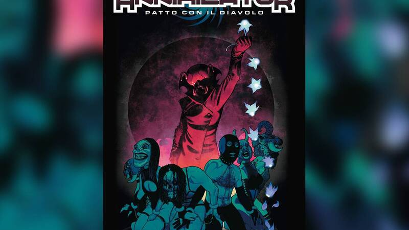 Annihilator - Pact with the devil: the review