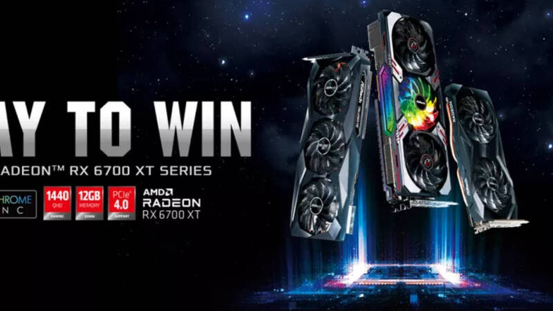 ASRock, here are the three custom Radeon RX 6700 XTs