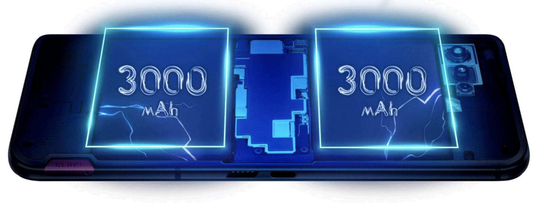 Asus ROG Phone 5 batteria