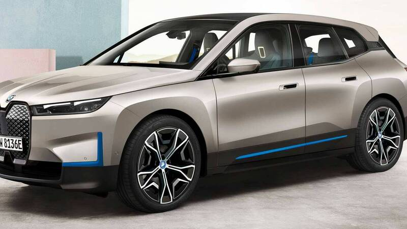 BMW iX: the details of the two versions of the 100% electric SUV