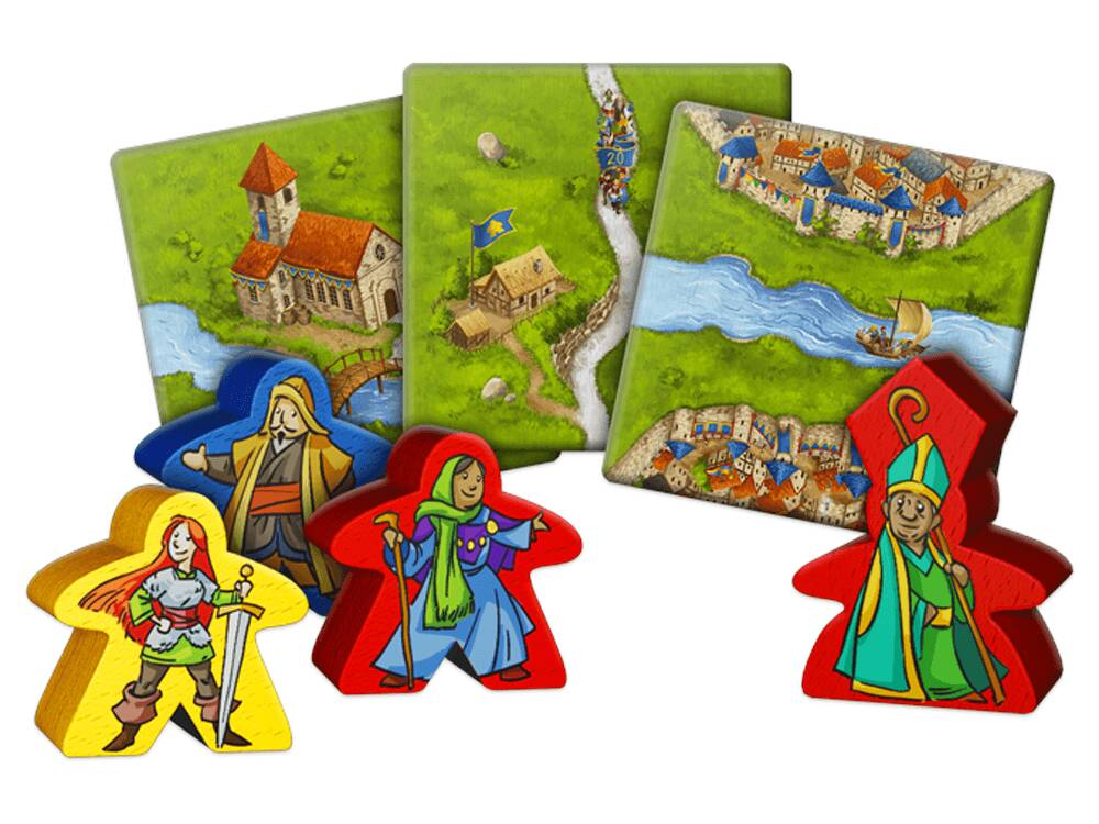 Carcassonne 20th Anniversary Edition