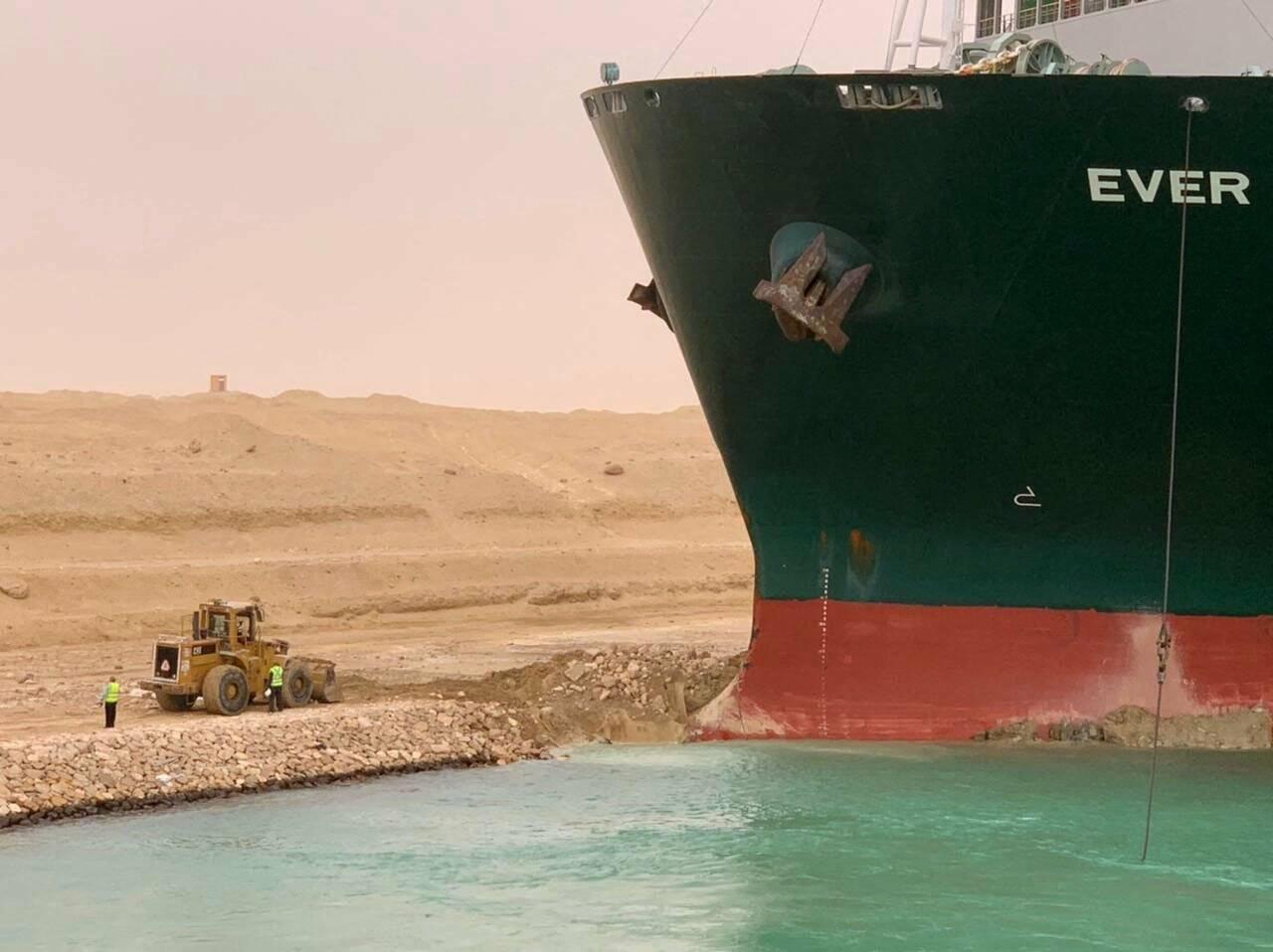 Ever Given Canale di Suez