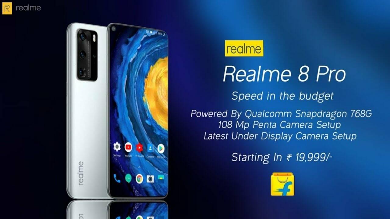 Le caratteristiche tecniche di Realme 8 Pro