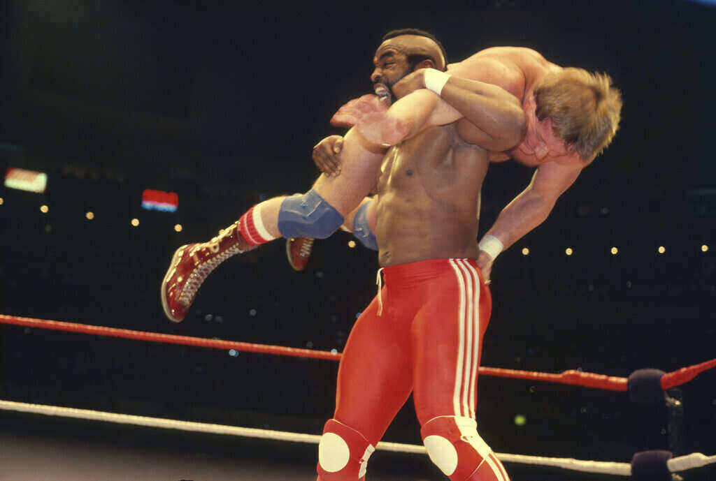 La partecipazione di Mr. T al main event della prima WrestleMania
