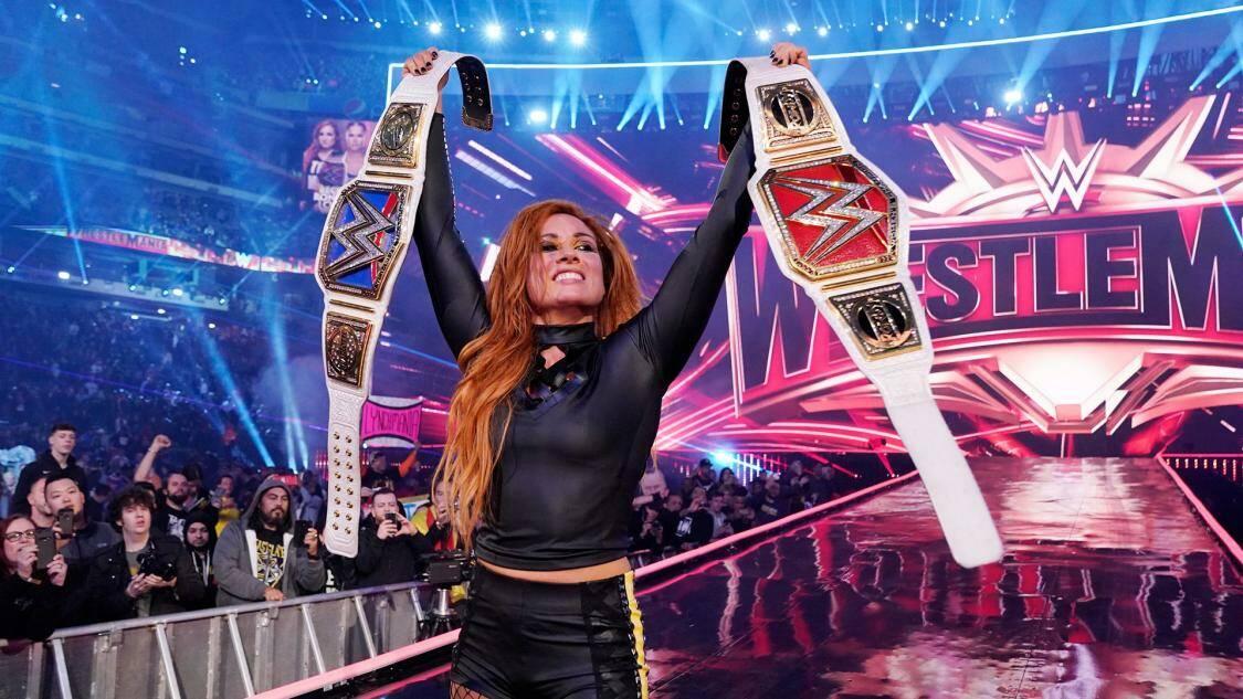 Becky Lynch a WrestleMania