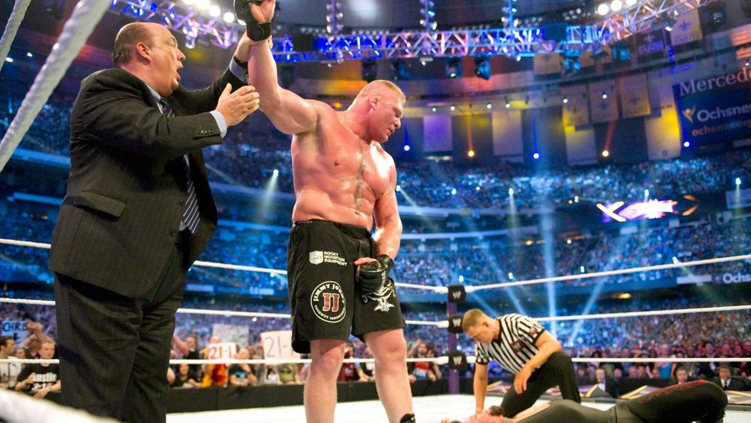 Brock Lesnar Undertaker