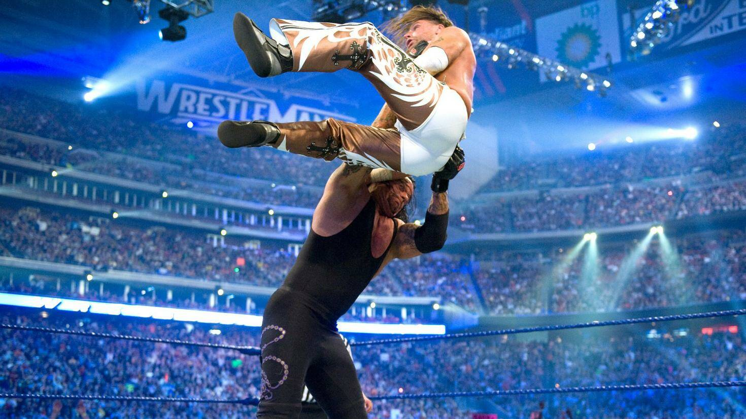 Shawn Michaels vs The Undertaker
