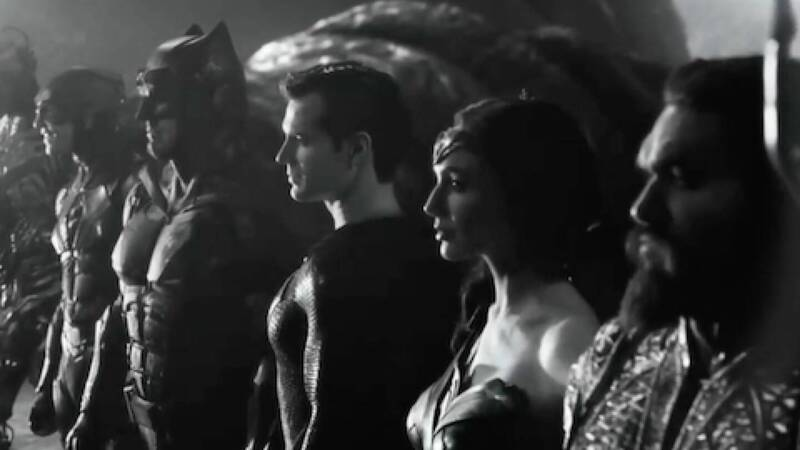 Zack Snyder's Justice League - Justice is Gray: first clip of the black and white version