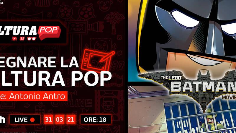 Pop Culture & Graphite present Drawing Pop Culture - LEGO Batman