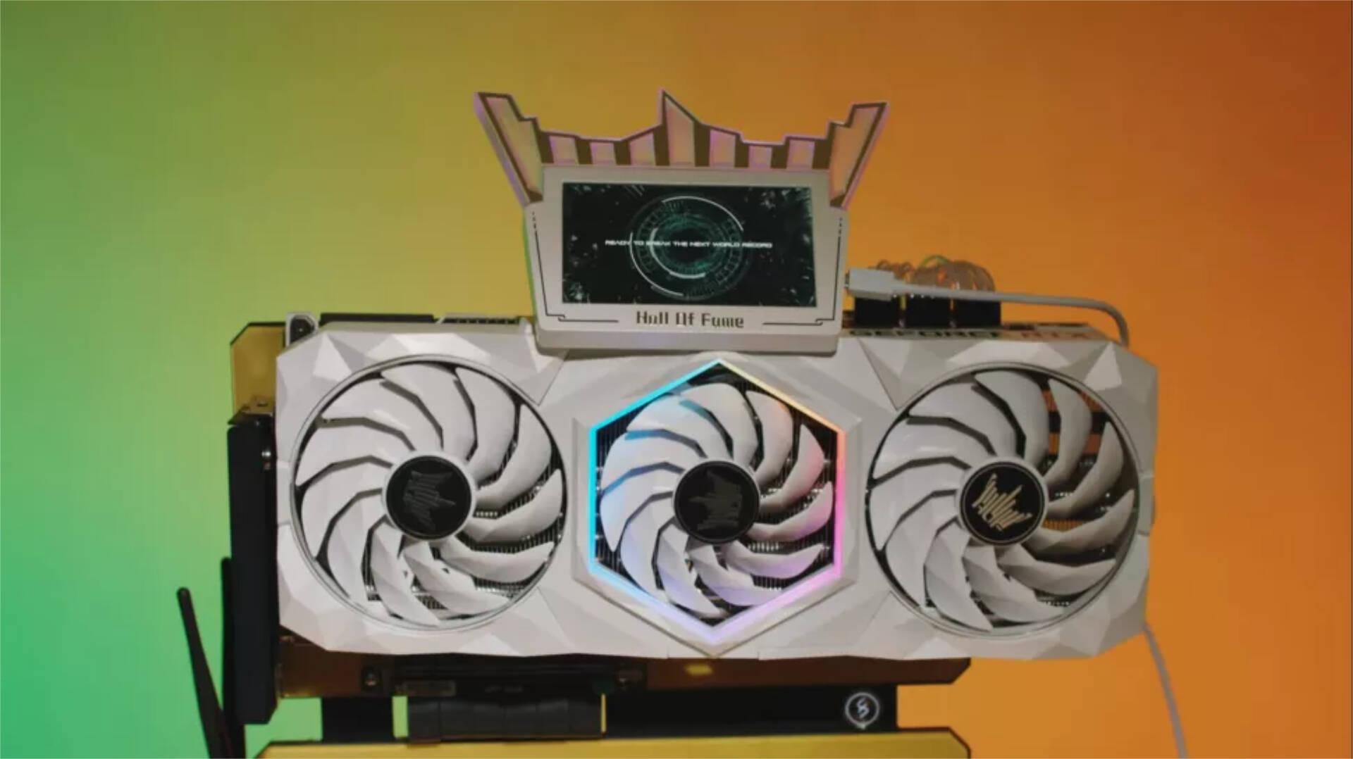 GeForce RTX 3090 HoF Extreme