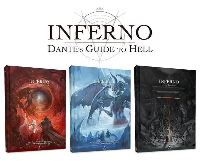 Inferno Dante Guide to Hell - gioco di ruolo