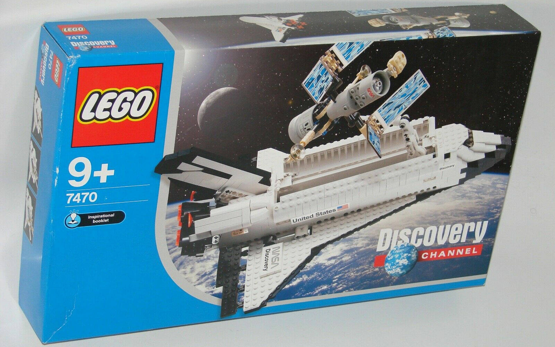 LEGO #10283 NASA Space Shuttle Discovery