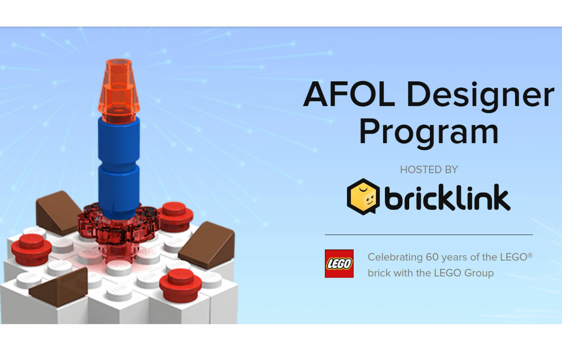 LEGO IDEAS E AFOL DESIGNER PROGRAM BY BRICKLINK