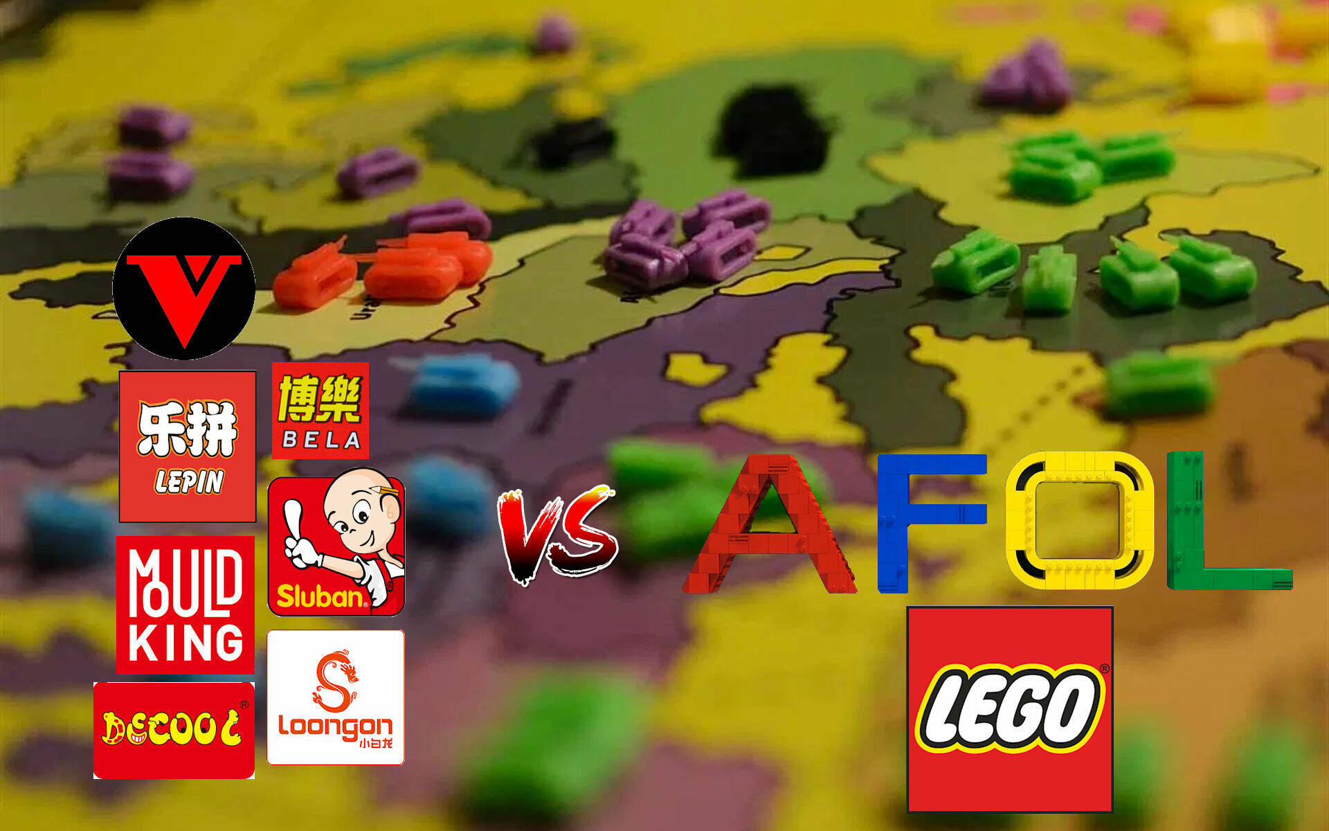 LEGO VS LEPIN THE CLONE WARS