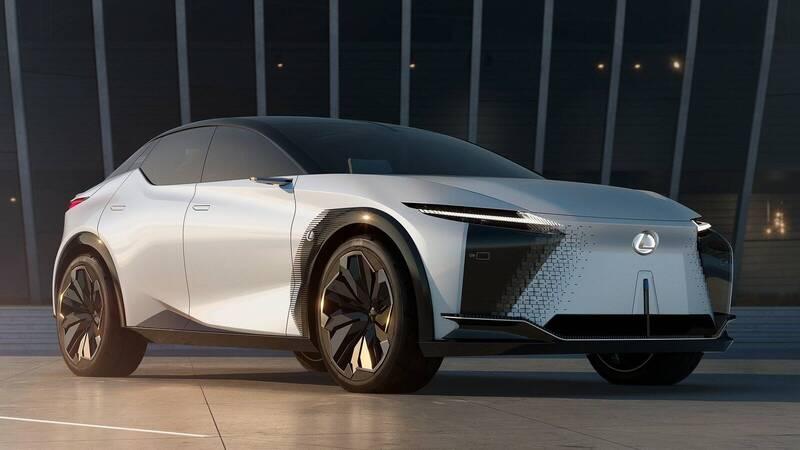 Lexus: ten new electrified vehicles by 2025