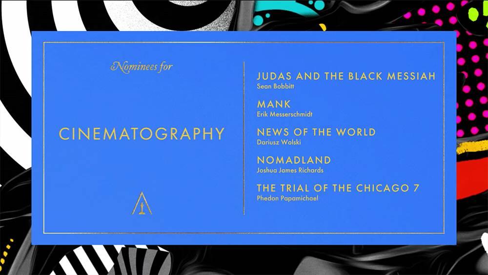Oscar 2021: le nominations