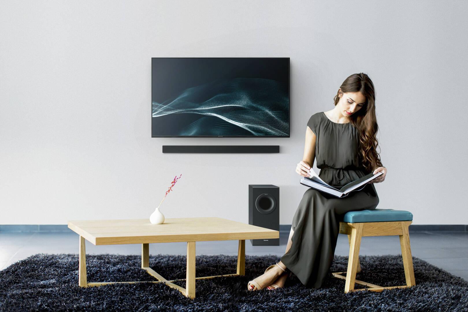 Panasonic Slim Soundbar HTB490