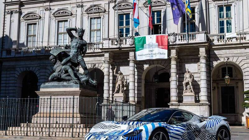 The 1900 bhp Italian electric car was spotted in Turin: its debut is near