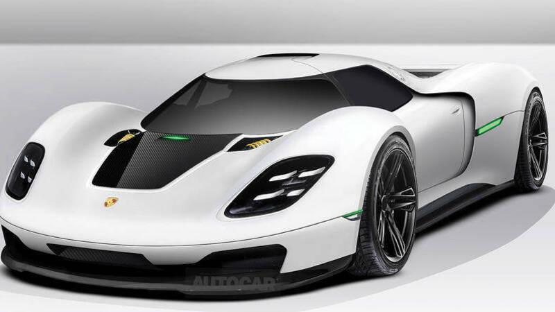 Porsche postpones the electric hypercar project to 2025