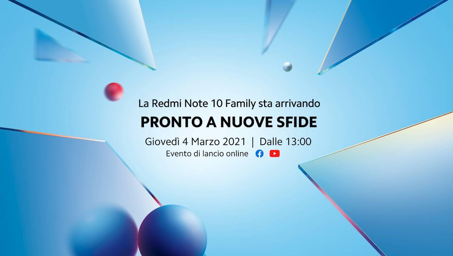 Redmi Note 10 evento