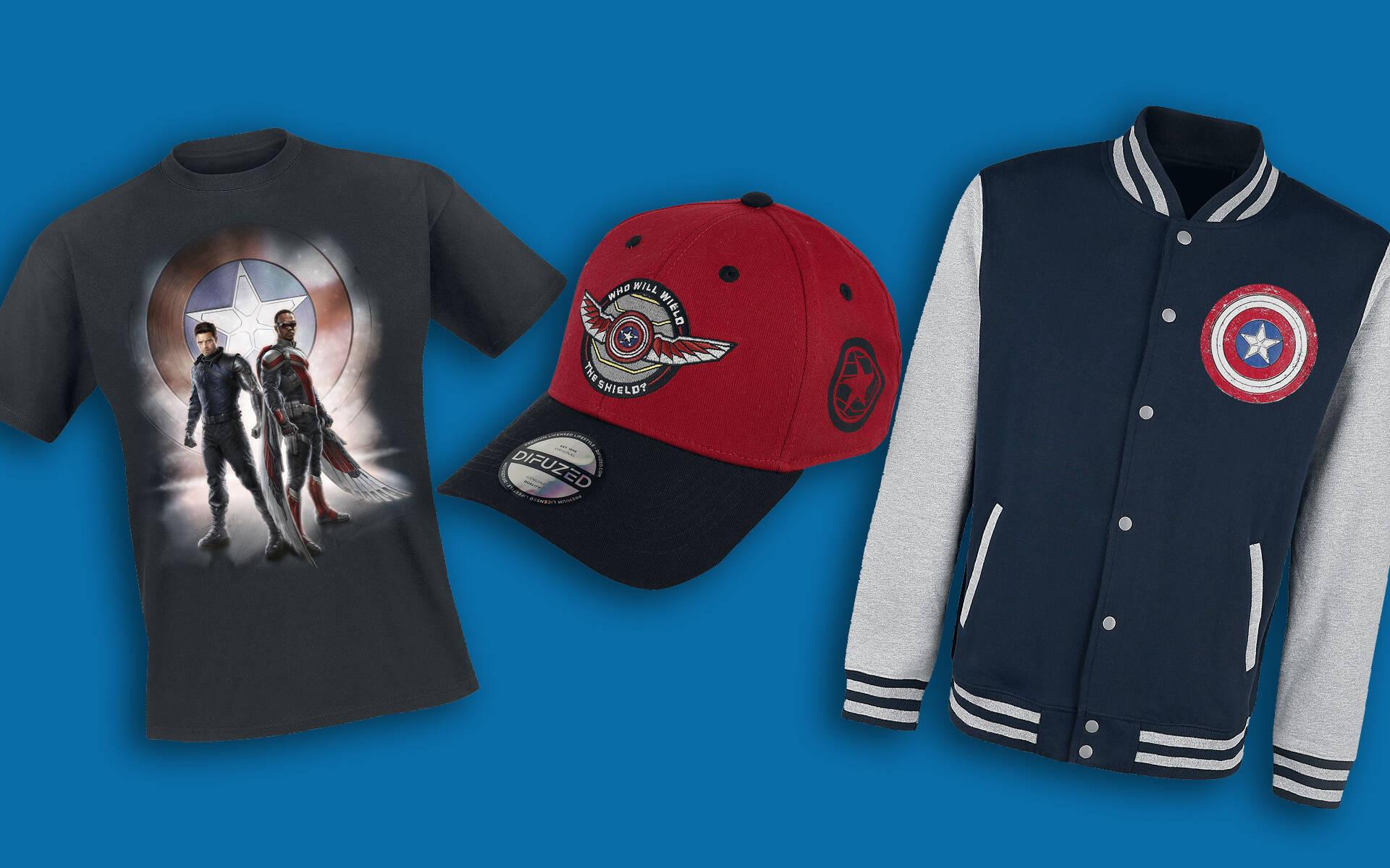 The Falcon and The Winter Soldier, gadget e abbigliamento