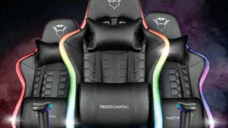 Trust announces its two new premium gaming chairs