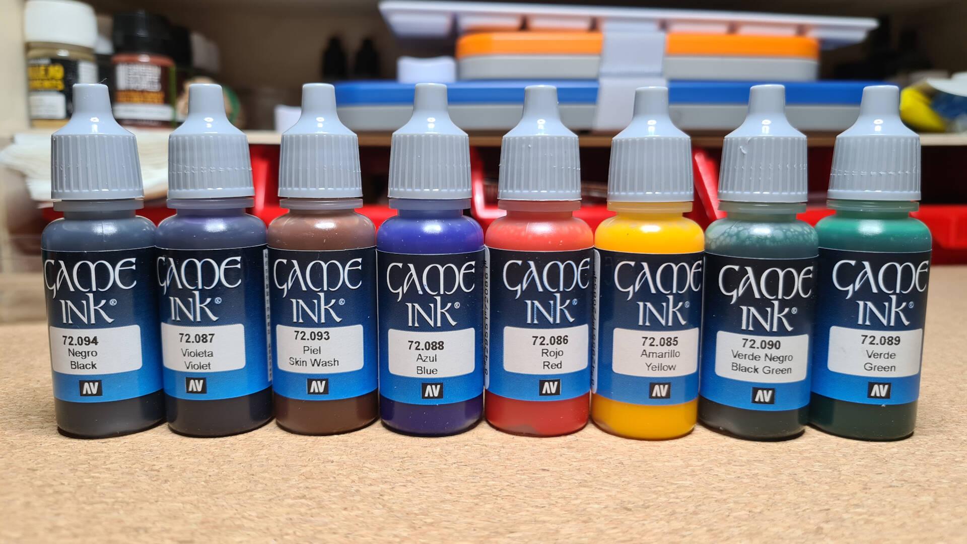 Vallejo Game Color Ink