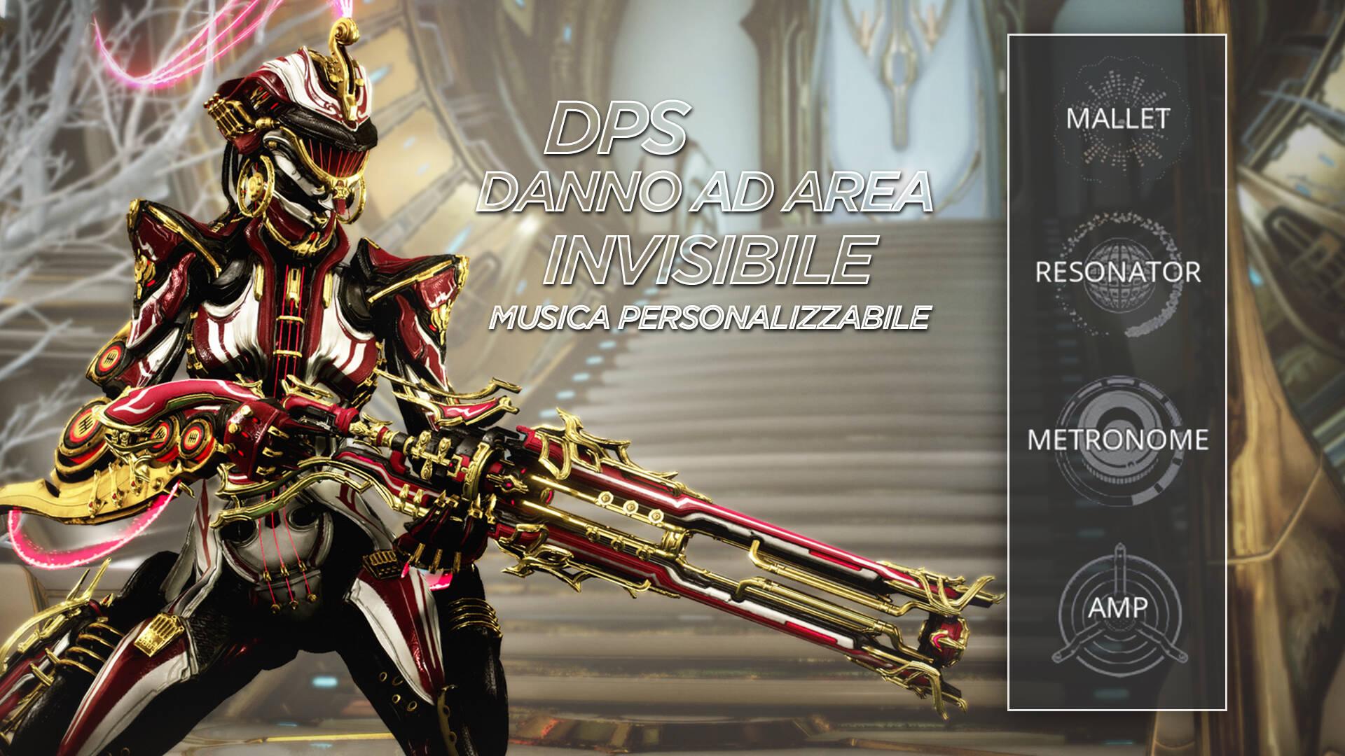 Warframe Octavia Prime