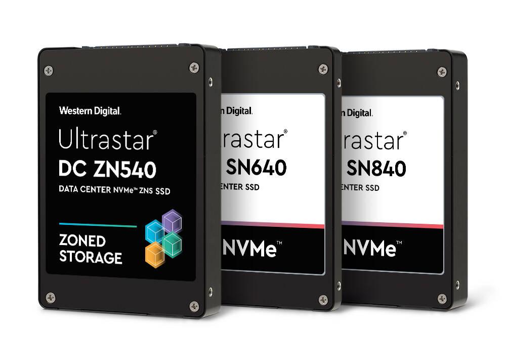 WD Ultrastar DC SN840 & SN640