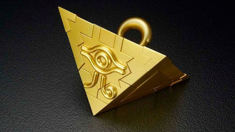 Yu-Gi-Oh: Bandai has produced a buildable replica of the Millennium Puzzle