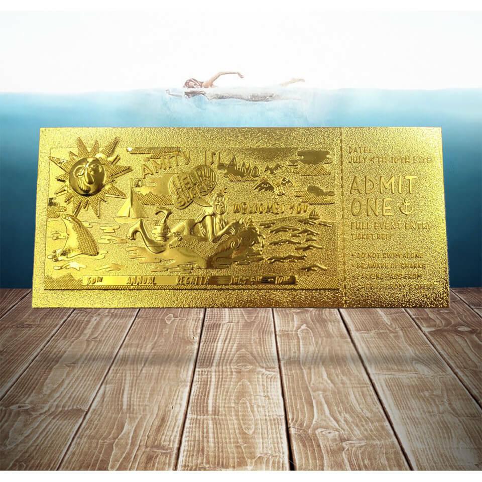 zavvi squalo biglietto d'oro