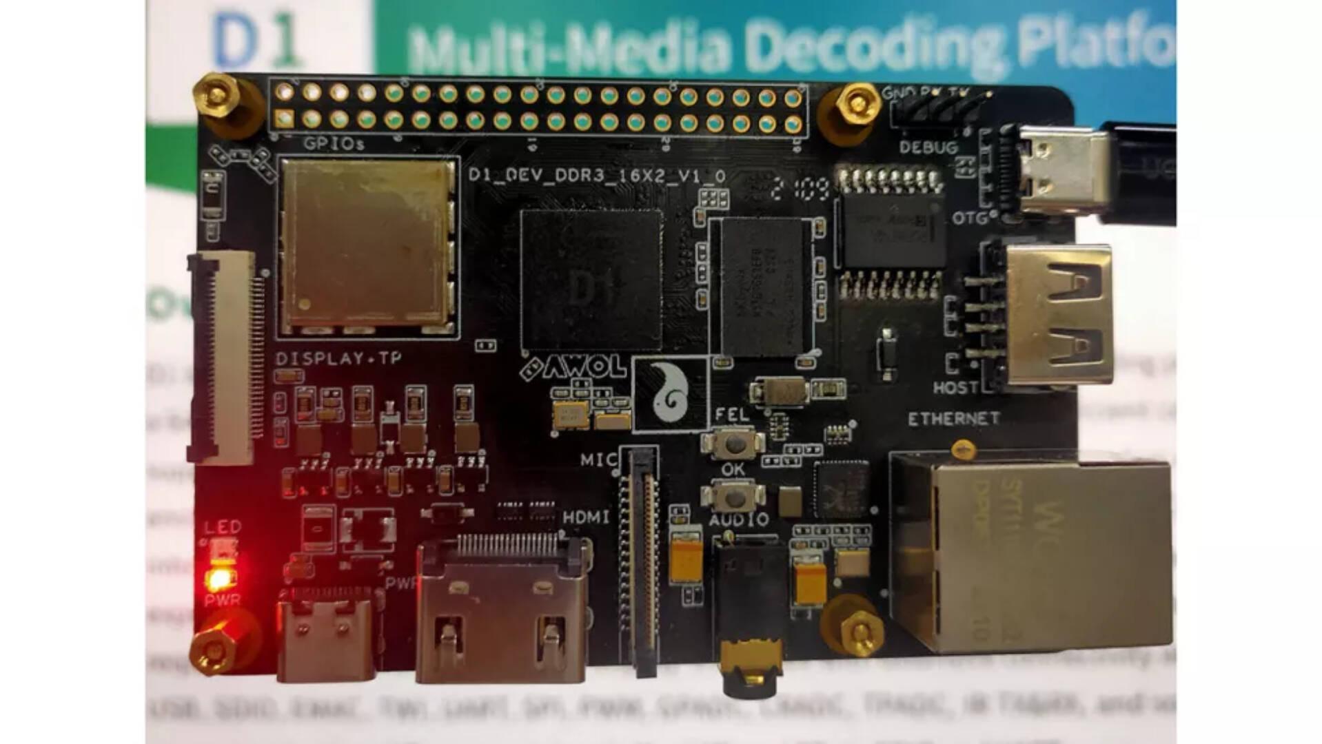 Allwinner D1 RISC-V