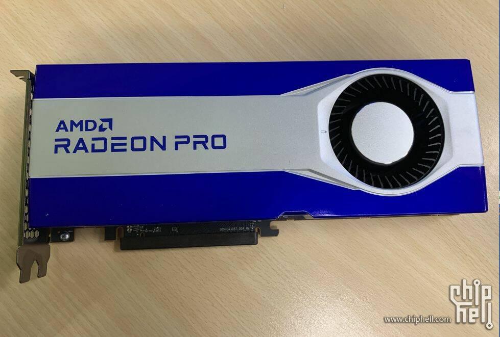 AMD Radeon Pro Navi Chiphell