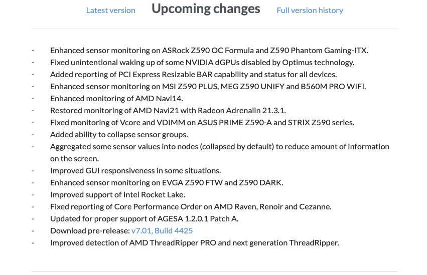 AMD Ryzen Threadripper HWinfo