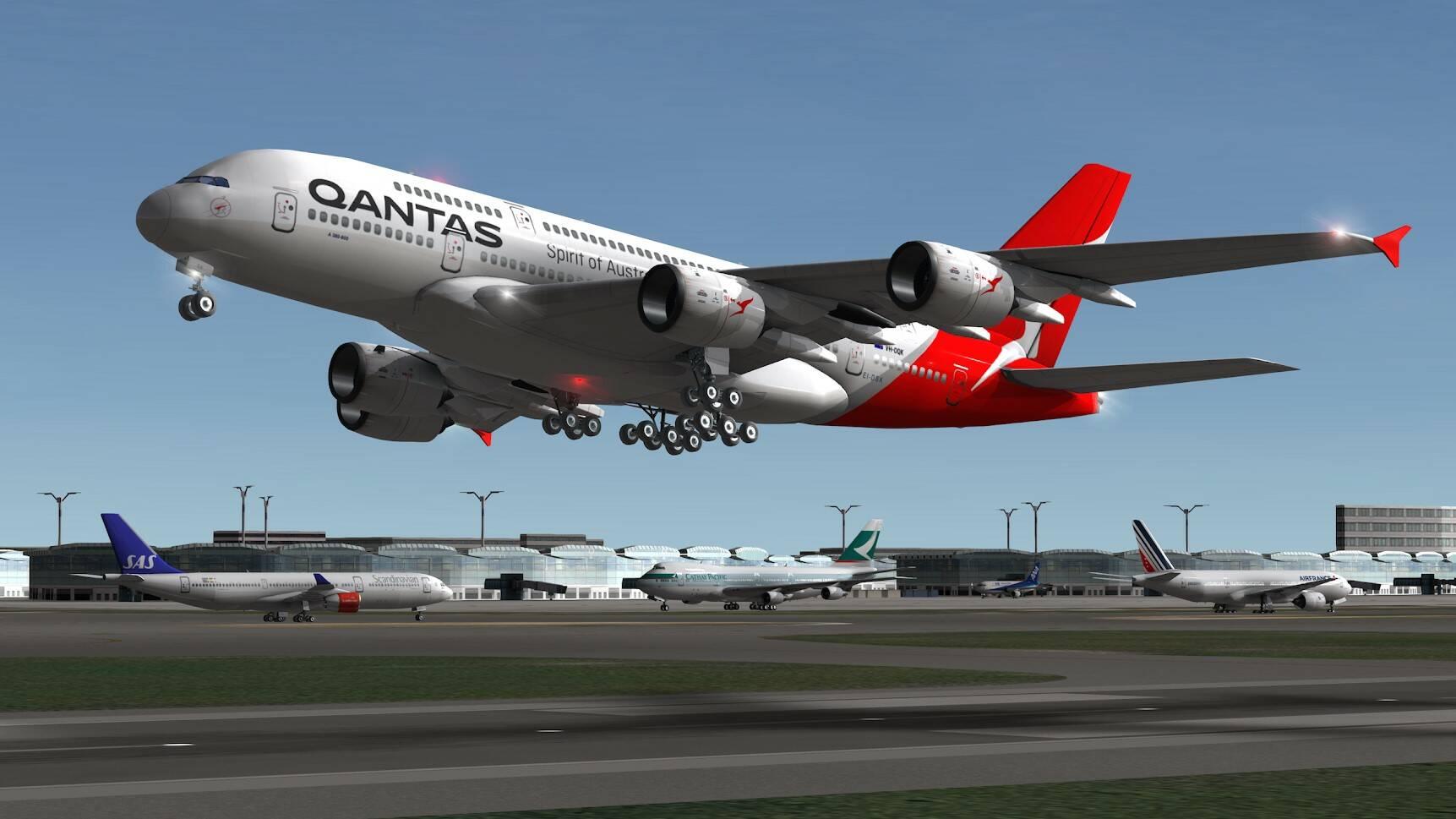 AR Flight Simulator